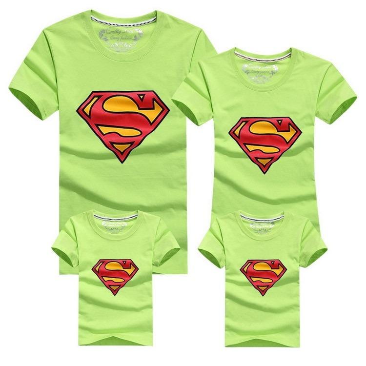 Conjunto Super Family de 4 Camisetas a Juego 7