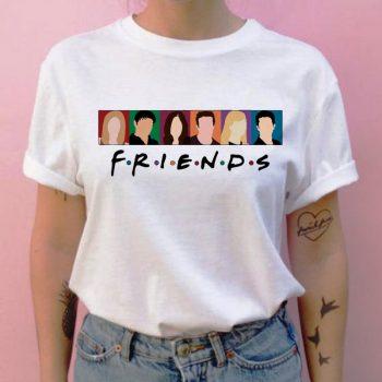 Friends camiseta hip hop 90s para Chica 12