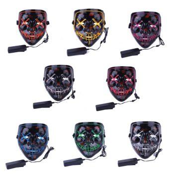 Máscaras Led Cosplay La Purga Siglo 21 12