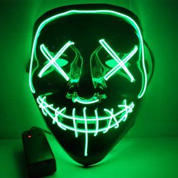 Máscaras Led Cosplay La Purga Siglo 21 14