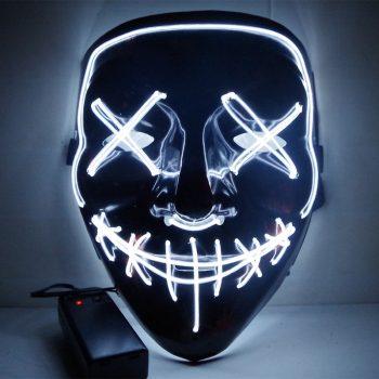 Máscaras Led Cosplay La Purga Siglo 21 18