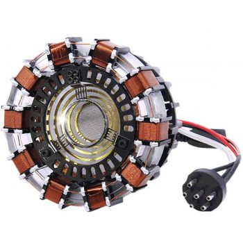 Reactor de Arco Tony Stark con luz LED 2020 7