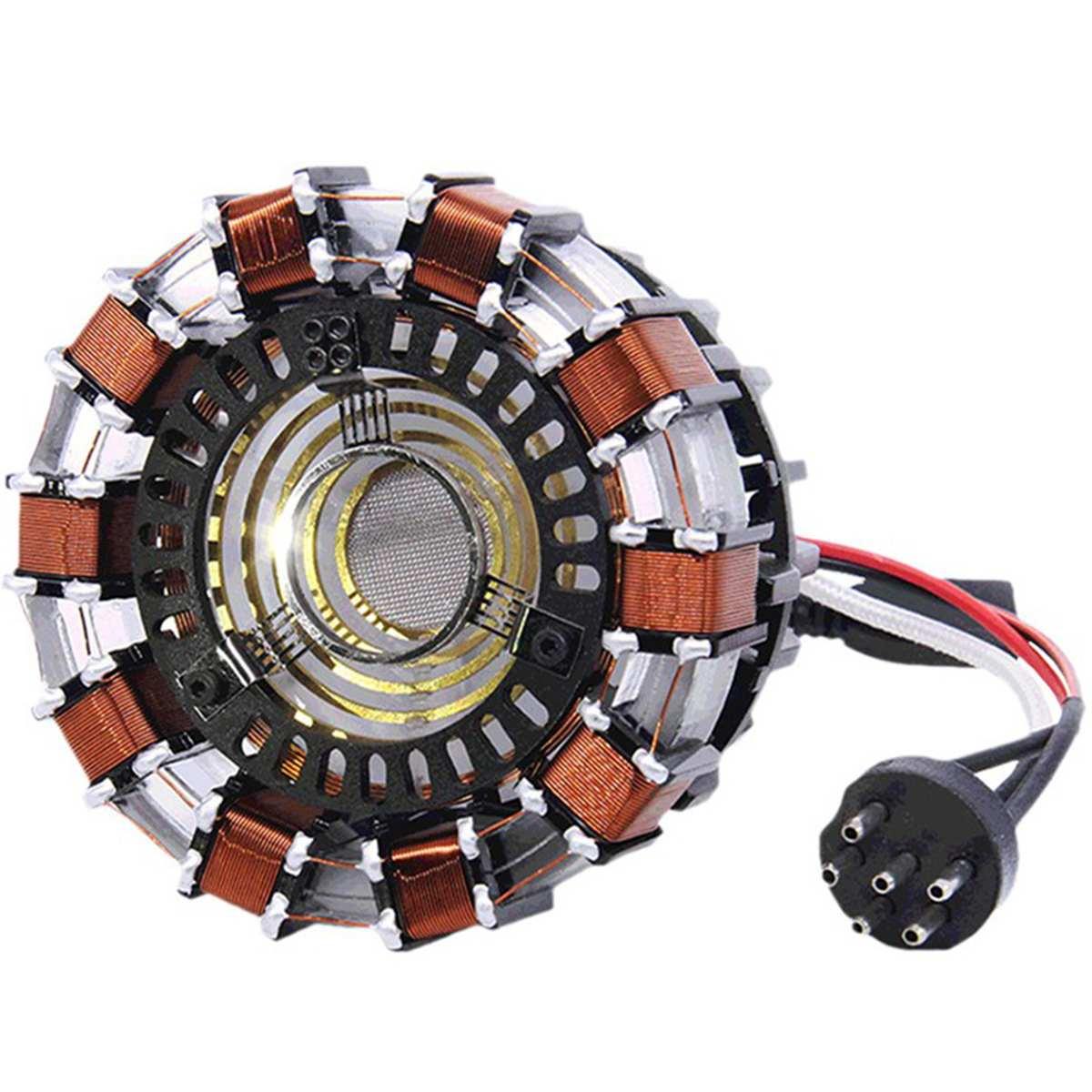 Reactor de Arco Tony Stark con luz LED 2020 2