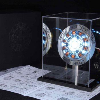 Reactor de Arco Tony Stark con luz LED 2020 9
