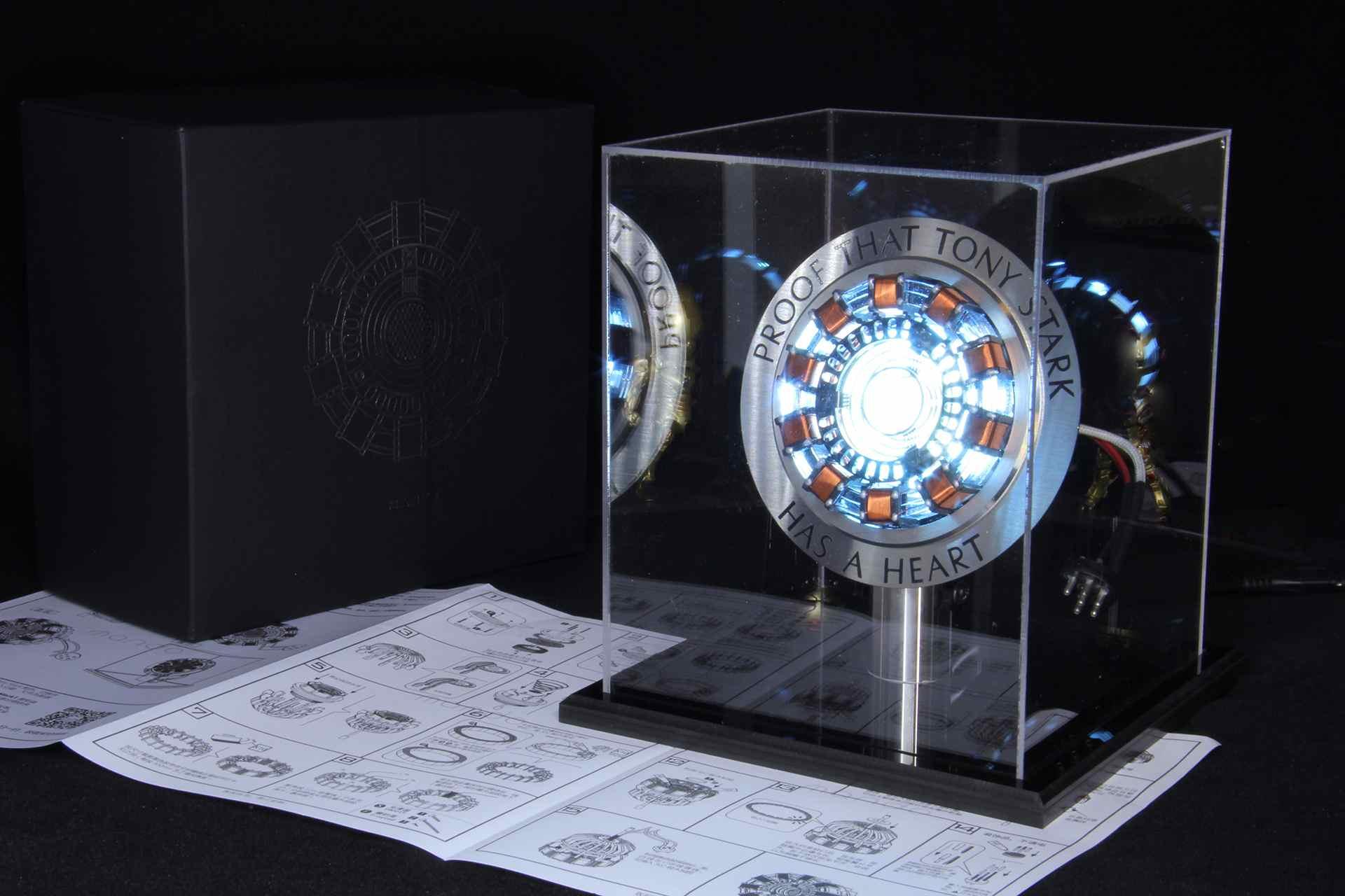 Reactor de Arco Tony Stark con luz LED 2020 4
