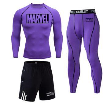 Tracksuit Marvel Compresión Jogging Running 2020 12