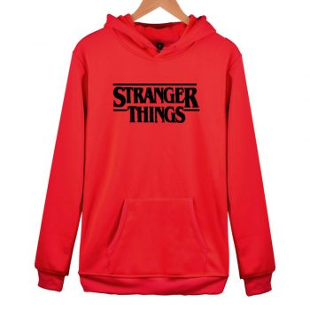 Sudadera Stranger Things con capucha Unisex 2020 6