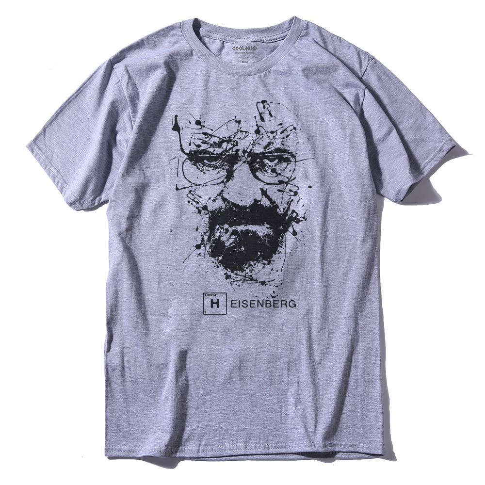 Men's Breaking Bad TV Cotton T-Shirts