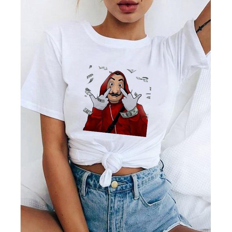 Camiseta Streetwear BELLA CIAO La Casa De Papel 2020 3