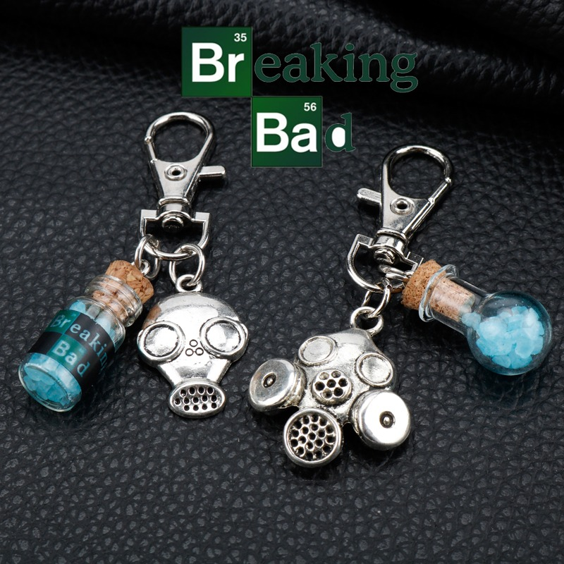 Breaking Bad Llavero Gas Mask 2P 1