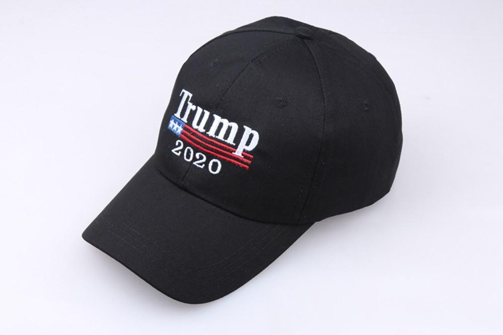 ¡Nuevo! Gorra de béisbol de Trump 2020, gorra de béisbol republicana bordada, gorra de presidente de Trump, venta al por mayor