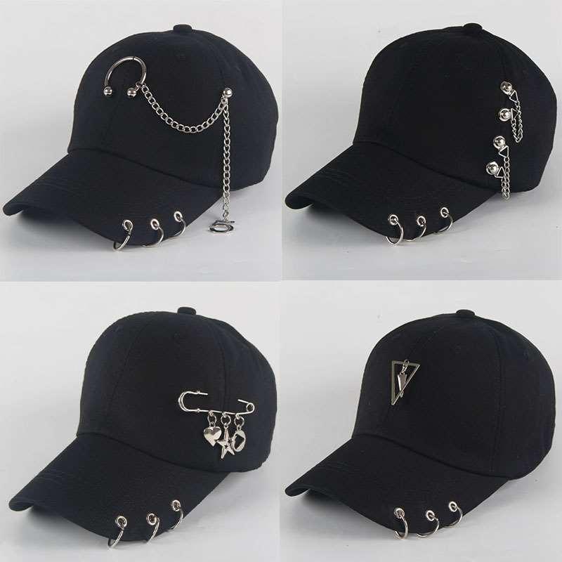 Baseball Cap Piercing Unisex 5