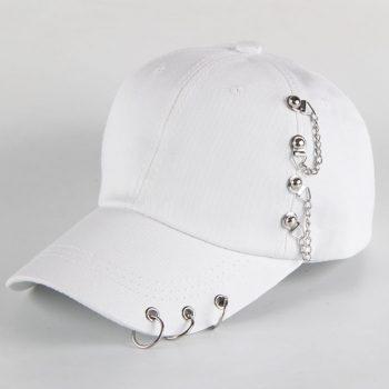 Baseball Cap Piercing Unisex 11