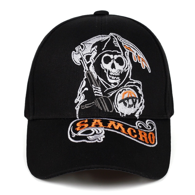 Gorra de Béisbol Sons of Anarchy Calavera 1