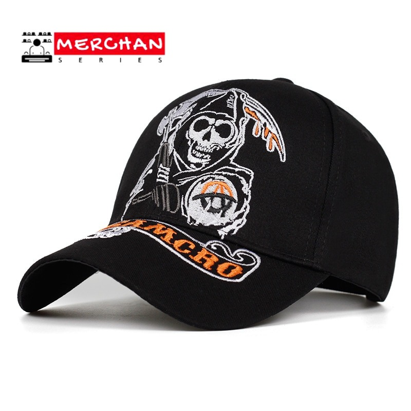Gorra de Béisbol Sons of Anarchy Calavera