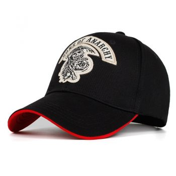 Gorra de Béisbol Sons of Anarchy Calavera 10
