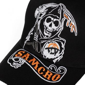 Gorra de Béisbol Sons of Anarchy Calavera 8